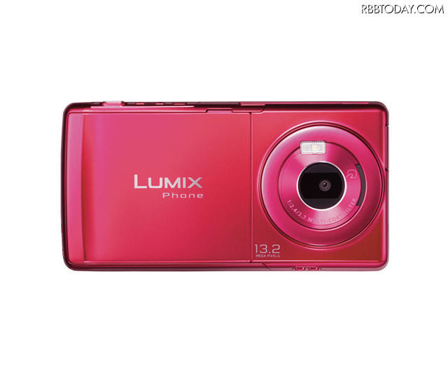「LUMIX Phone P-02D」Red Magenta