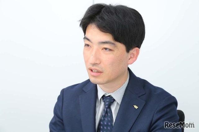 学研プラス 高校教育コンテンツ事業部 事業推進チームリーダーの難波大樹氏