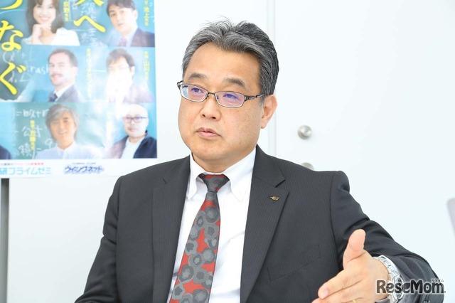 学研プラス 取締役の金谷敏博氏
