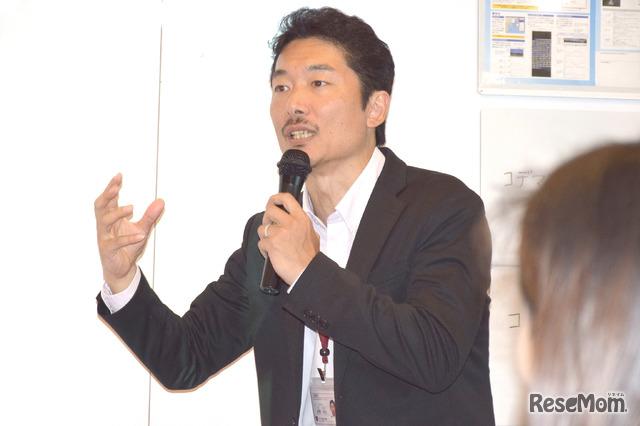 かえつ有明中・高等学校 教育統括部長の佐野和之先生