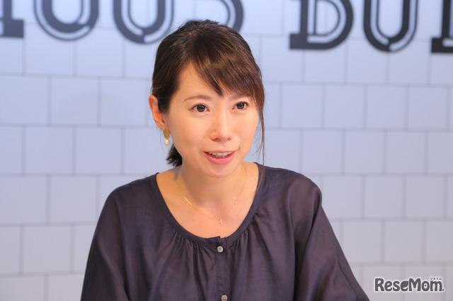 日本マクドナルド・マーケティング本部ナショナルマーケティング部の松尾安奈さん