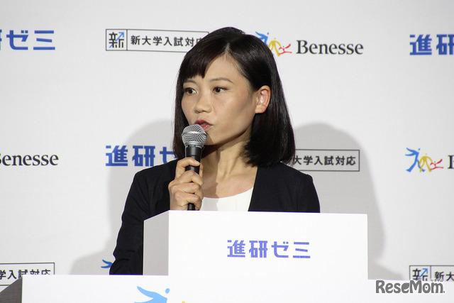 ベネッセコーポレーション 高校生商品部 部長の溝渕美保氏