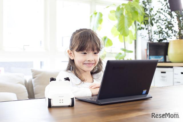 プログラミング教育用ロボット「codey rocky(コーディーロッキー)」