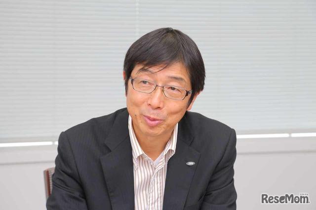 シャープ 市販営業部長 児嶋運晃氏