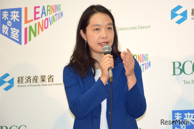 数学者・ジャズピアニスト 中島さち子氏/「未来の教室」プラットフォームキックオフイベント