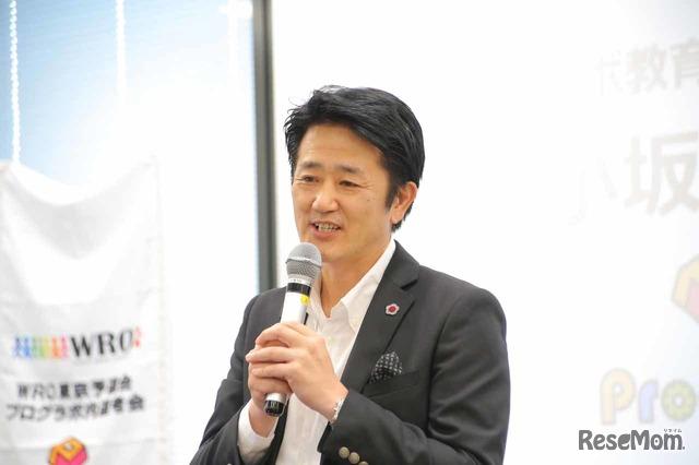 プログラボを設立したミマモルメ代表取締役社長の小坂光彦氏