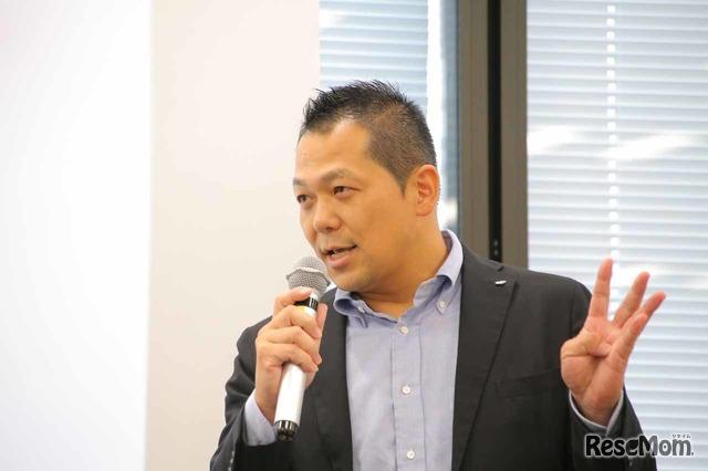 JR中央ラインモール取締役営業本部長の藤井悟史氏