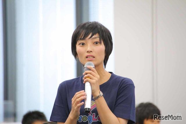 大会の進行を担当するミマモルメの勝山裕子氏