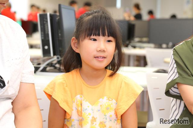 F@IT Kids Club×千葉工業大学プログラミングサマースクール2018のようす/3年生になったらもっとプログラミングをやりたい!