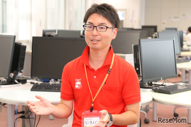 F@IT Kids Club×千葉工業大学プログラミングサマースクール2018のようす/大木氏