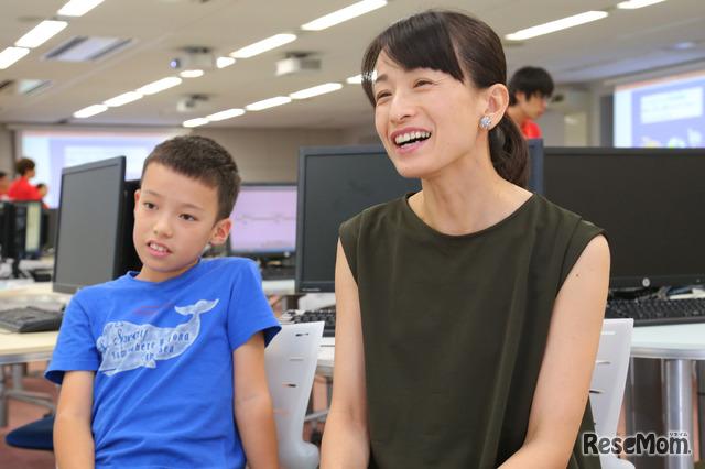 F@IT Kids Club×千葉工業大学プログラミングサマースクール2018のようす/ロボットプログラミングコースに参加のご家族