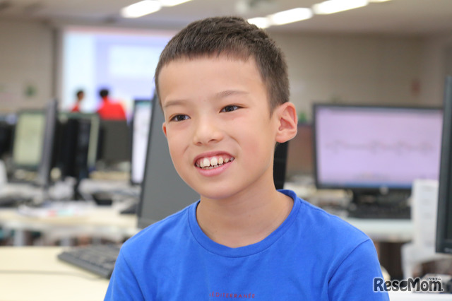 F@IT Kids Club×千葉工業大学プログラミングサマースクール2018のようす/ミッションがあって、惑星(他の教室)に行くことが楽しかった