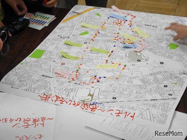 地図作りには、千葉大学大学院木下勇研究室と一般社団法人子ども安全まちづくりパートナーズが協力
