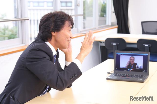 中村隆道先生とニック・サヴィル博士