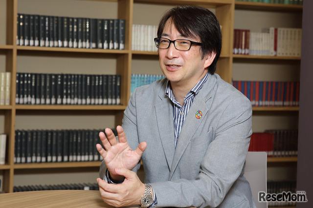武蔵野大学附属千代田高等学院の荒木貴之校長