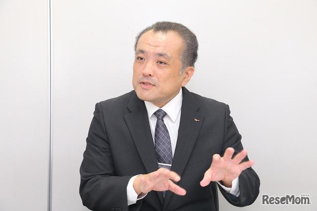 ウィザス 第一教育本部情報企画室室長の高澤隆一氏