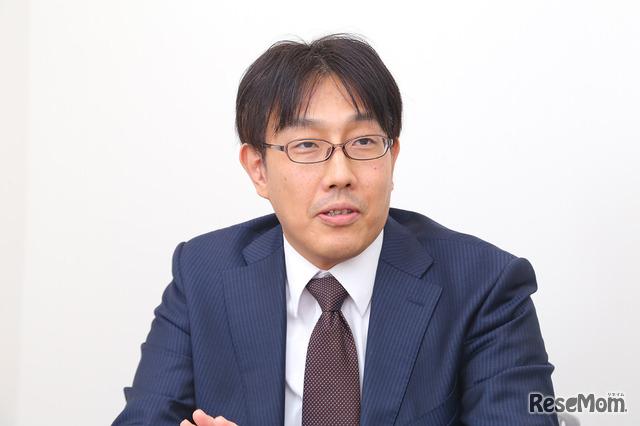 湘南ゼミナール 教務支援部進路情報戦略室長の秋山清輝氏
