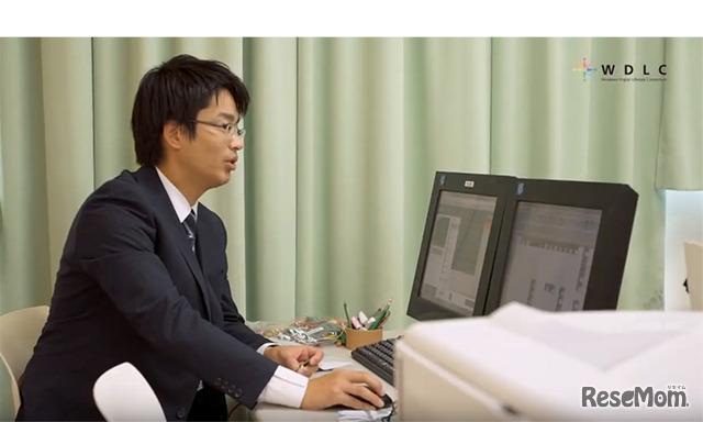 千葉大学教育学部附属小学校で授業を担当された・ICT活用教育部主任 小池翔太 先生