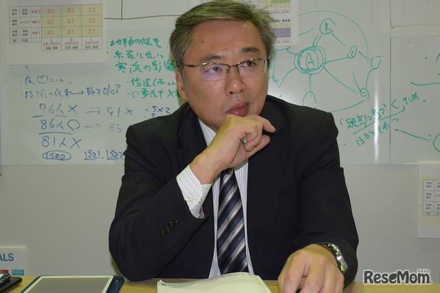 首都圏模試センター取締役教務部長の北一成氏