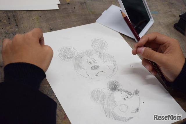 ディズニー イマジネーション ワークショップ公開授業