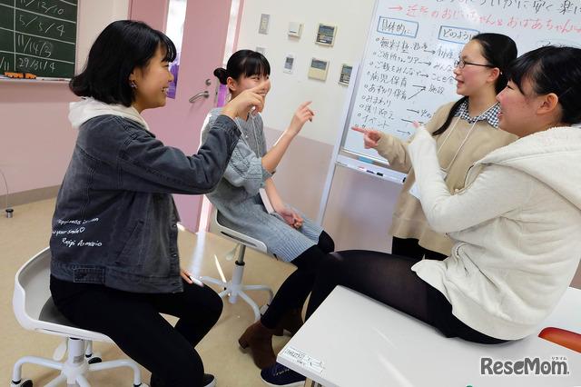 2019年12月24日からの4日間開催された武蔵野女子学院ウィンターキャンプのようす
