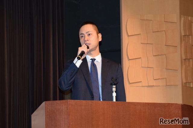 辻村直也氏(英語4技能・探究学習推進協会代表、ウェブリオ代表)