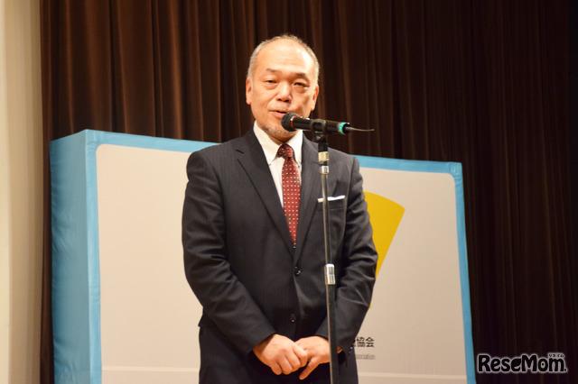 斉藤智氏(英語4技能・探究学習推進協会理事、桐原書店会長)