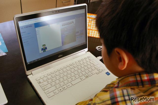 マインクラフトの世界でプログラミングを学ぶ「マイクラッチ」
