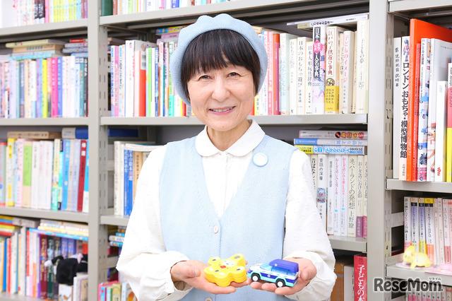 児童文化・玩具文化について研究する白百合女子大学・森下みさ子先生