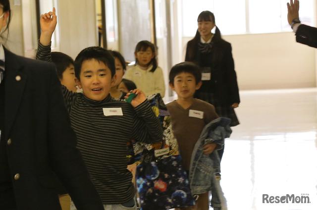大妻嵐山中学校・高等学校「OREEP」のようす