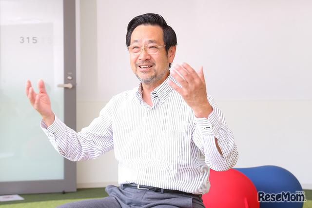 ドルトン東京学園 田邊則彦副校長