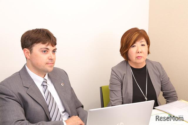 クリストファー ショーン ウィンスロー先生と小野木文香先生
