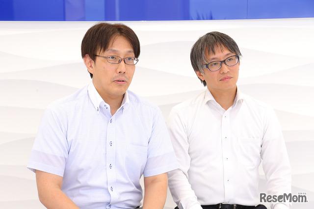 湘南ゼミナールの秋山清輝氏と渡邉豪氏