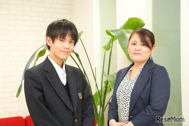 インタビューに応じてくれたクリスタルロード取締役社長・加藤路瑛さんと代表取締役・加藤咲都美さん