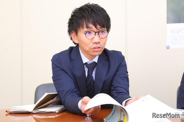 ShoPro 教材開発課 課長 奥野亮太氏