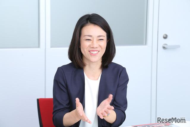 シャープ 国内スモールアプライアンス事業部 パーソナルソリューション企画開発部の主任 西田真理子氏