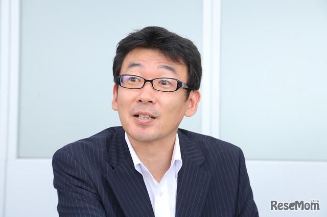 シャープ 国内スモールアプライアンス事業部 商品企画部の部長 奥田哲也氏