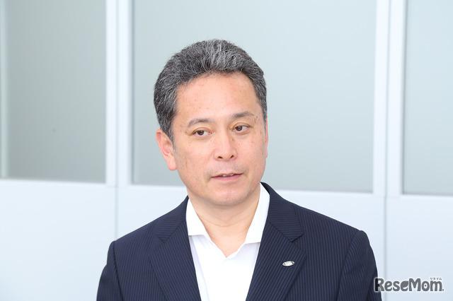 シャープ 国内スモールアプライアンス事業部 販売推進部の部長 山口直樹氏