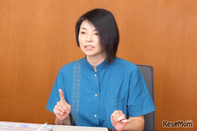 横須賀学院小学校 英語科教諭 阿部志乃先生