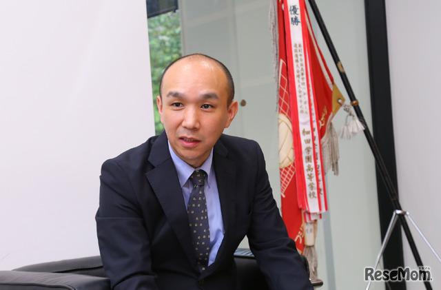 細田学園中学校広報主任兼中学広報統括の坂東啓介氏