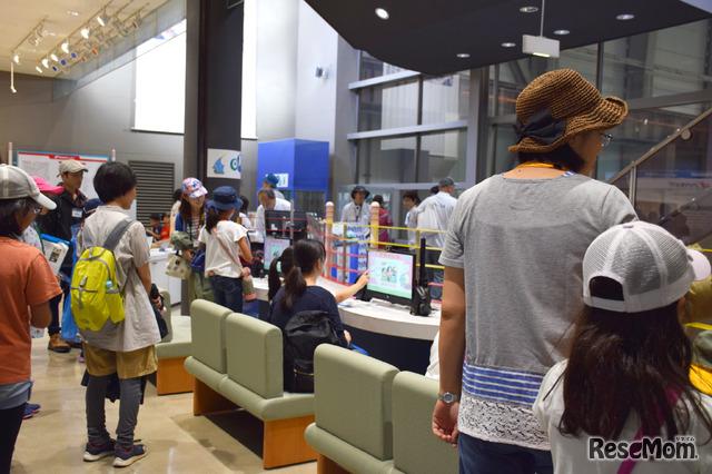 資料館では展示のほかオリジナルのプリクラを撮影したり
