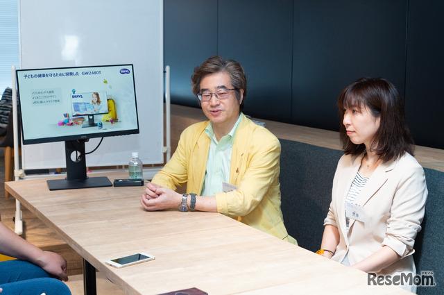 「子どもの目は大人よりも、光の感受性が強いから要注意」と綾木先生。専門の検査技師(視能訓練士)がいる眼科を受診することも大切だという