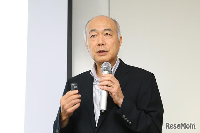鴎友学園女子中学高等学校名誉校長の吉野明氏
