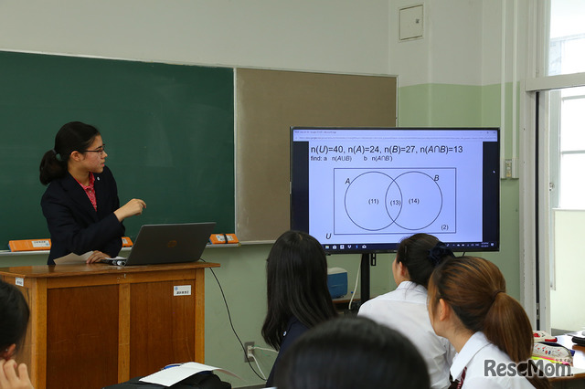 IBコースの授業風景