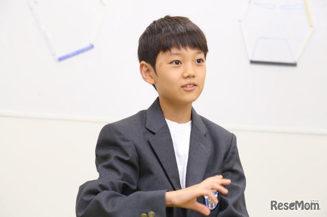 ドルトン東京学園T.Kくん
