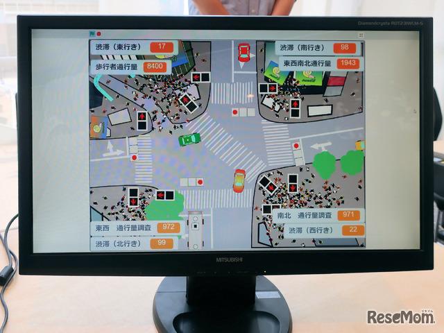 グランプリ受賞作品は「現実シリーズ2 渋谷スクランブル交差点信号機」小長井聡介さん(小2)