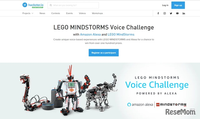 LEGO MINDSTORM Voice Challenge:Powered by Alexa