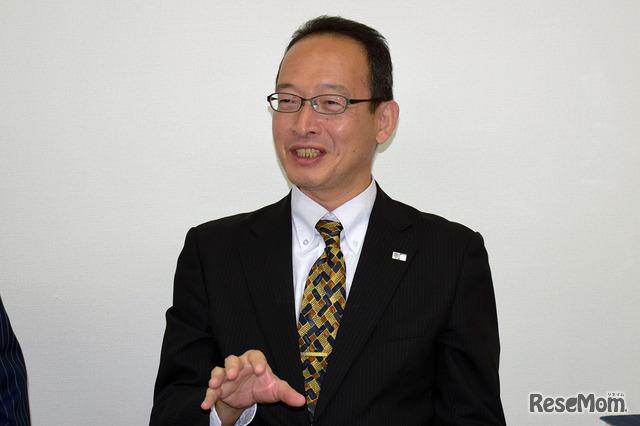 ナガセ コンテンツ本部 教務制作部部長の島田研児氏