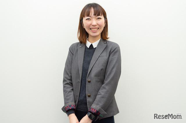 教材開発チーム リーダーの菅原麻子先生