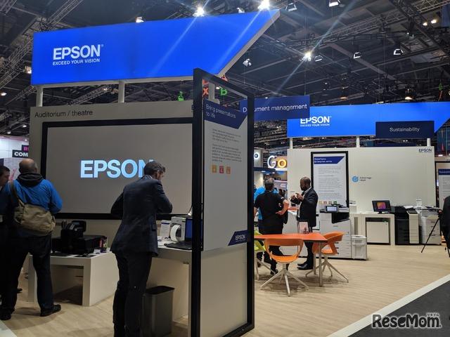 EPSONブース